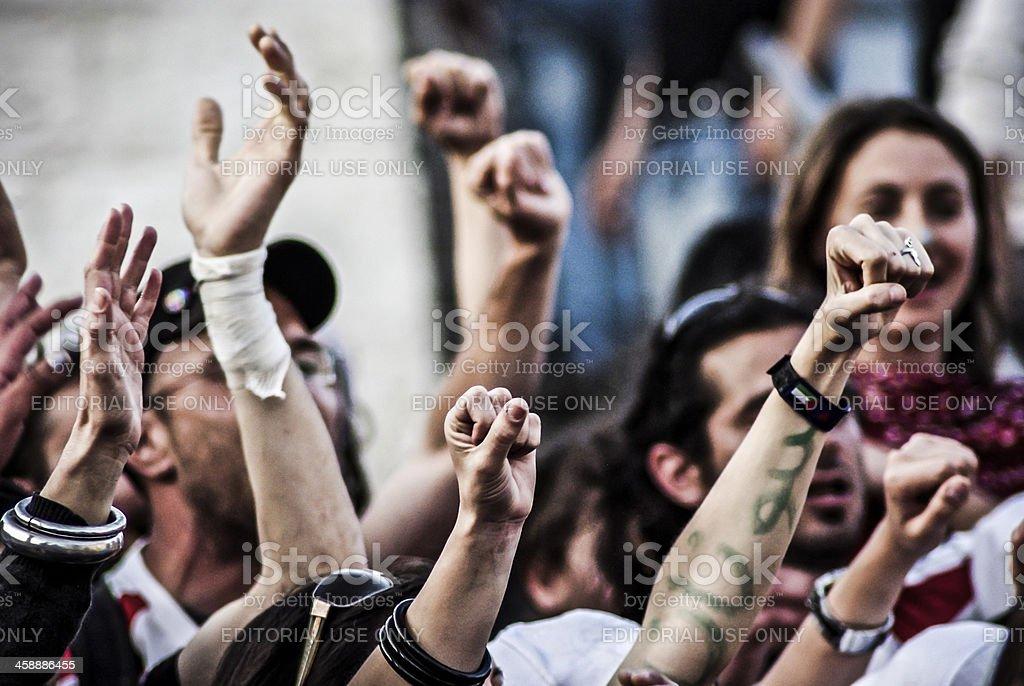Protest stock photo