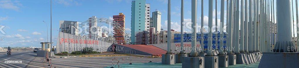 Protestadromo on Malecon stock photo