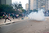 Protesters Under Attack