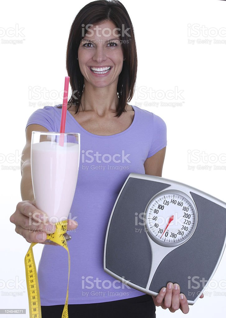 protien drink royalty-free stock photo
