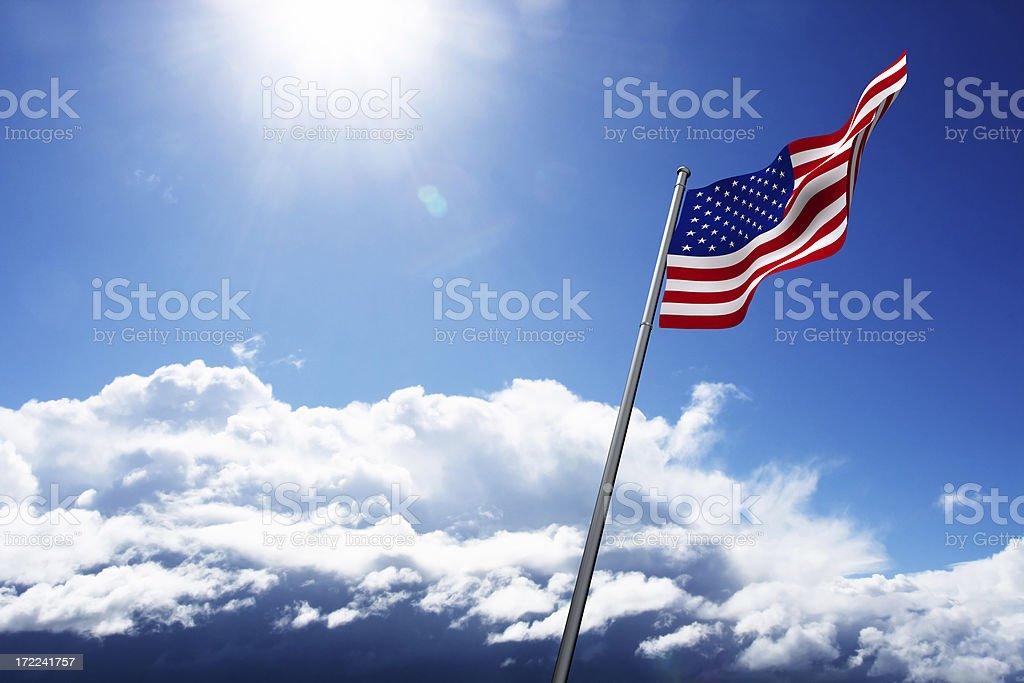 Proud America (XXL) royalty-free stock photo