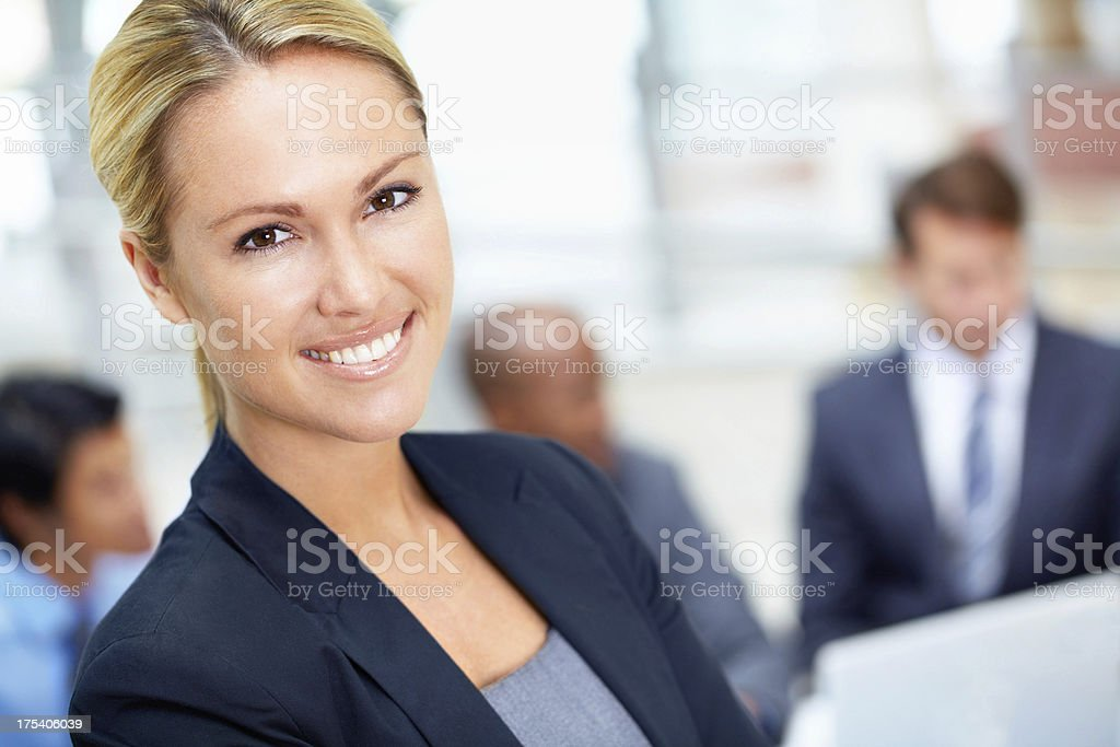 Proud of my contribution at work royalty-free stock photo