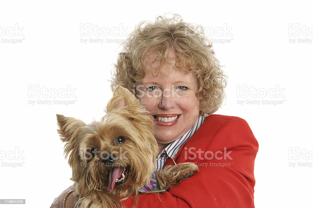 Proud Pet Owner royalty-free stock photo