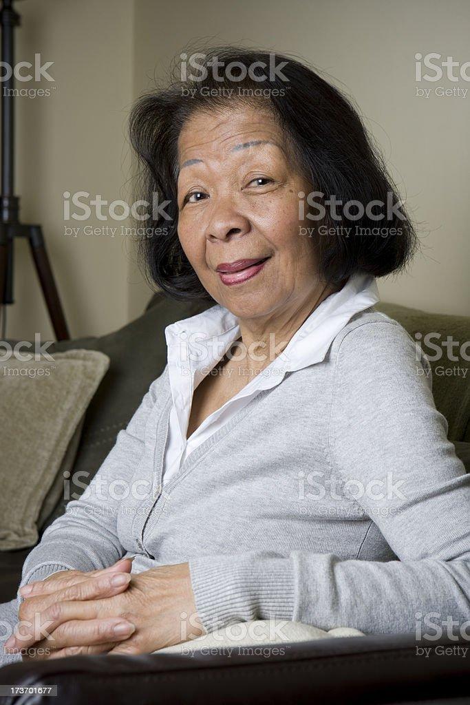 Proud Senior royalty-free stock photo