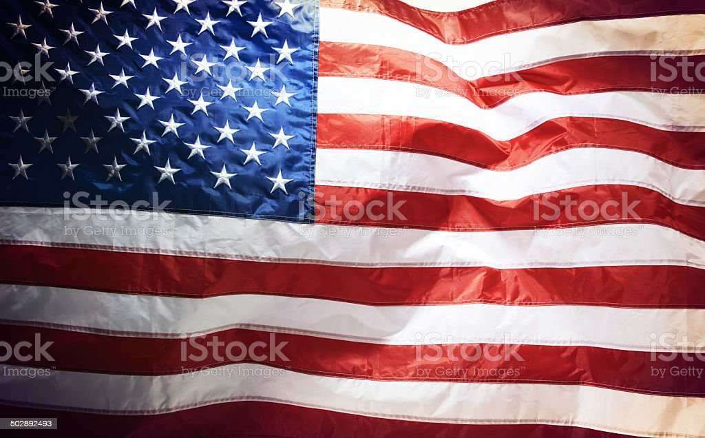 Proud to be an American royalty-free stock photo