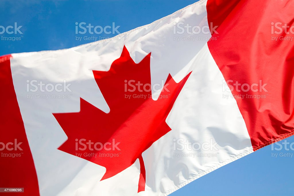 proud to be canadian royalty-free stock photo