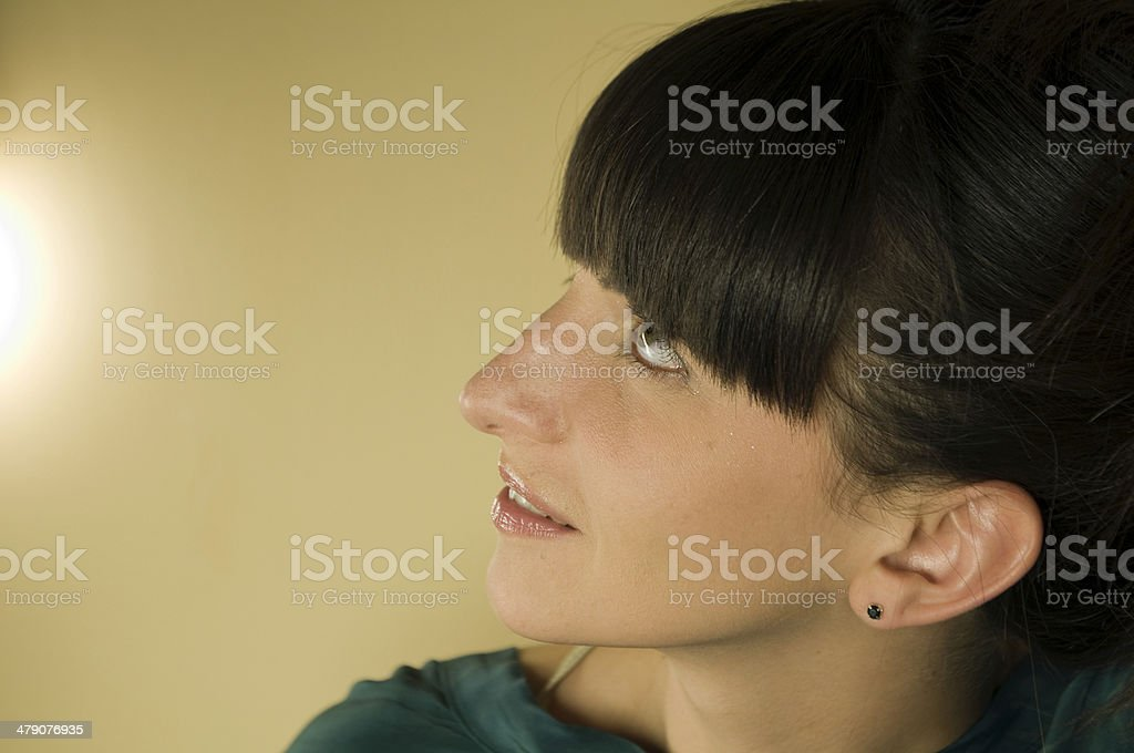 Proud Woman stock photo