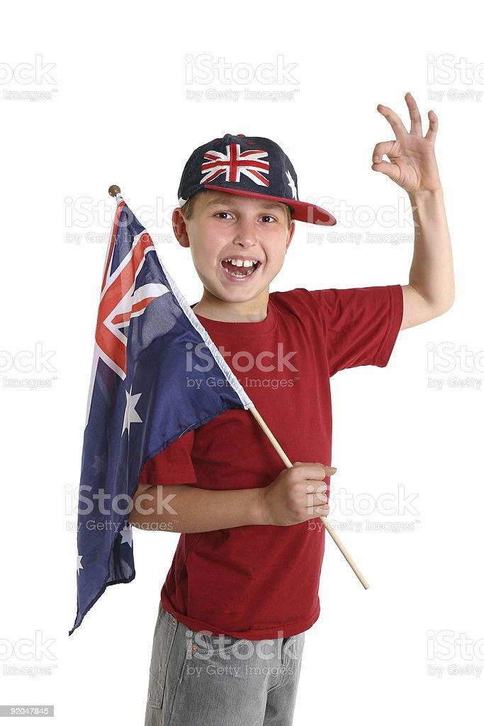 Proudly Australian stock photo
