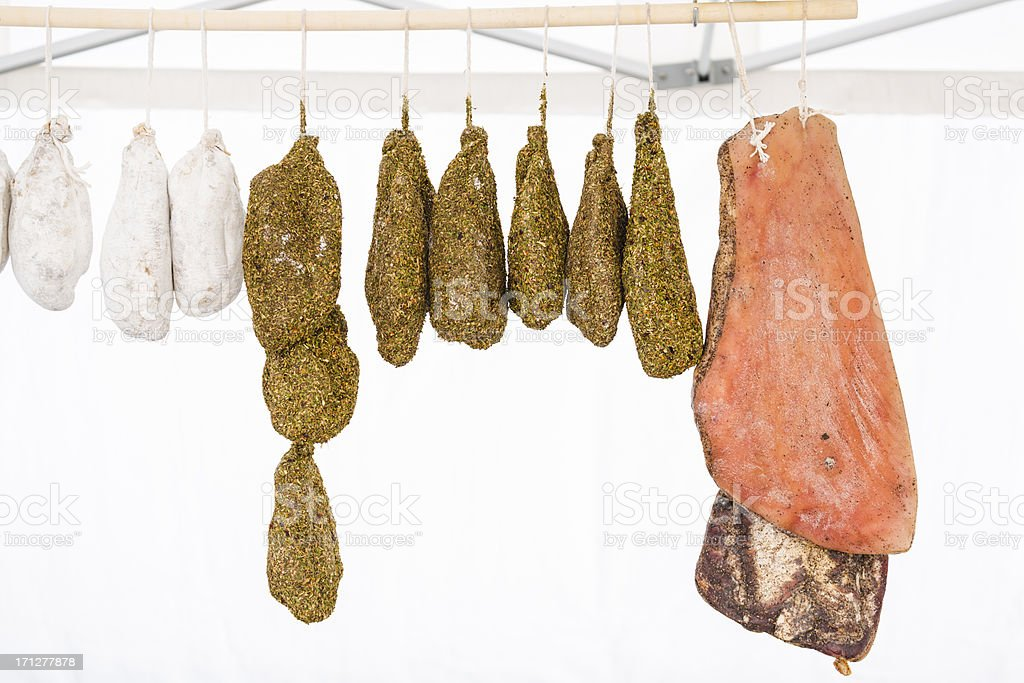 Provencal meat stock photo