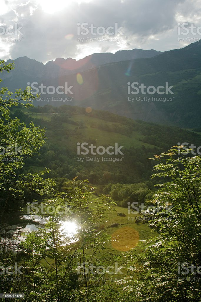 Provence. Hills and mountains in summer. royalty-free stock photo