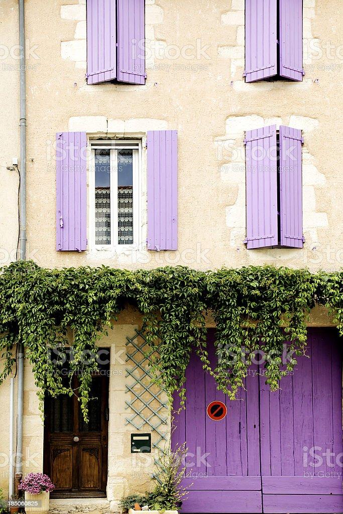 Provence house stock photo