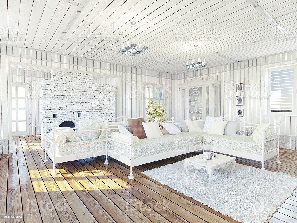 Provence  interior stock photo