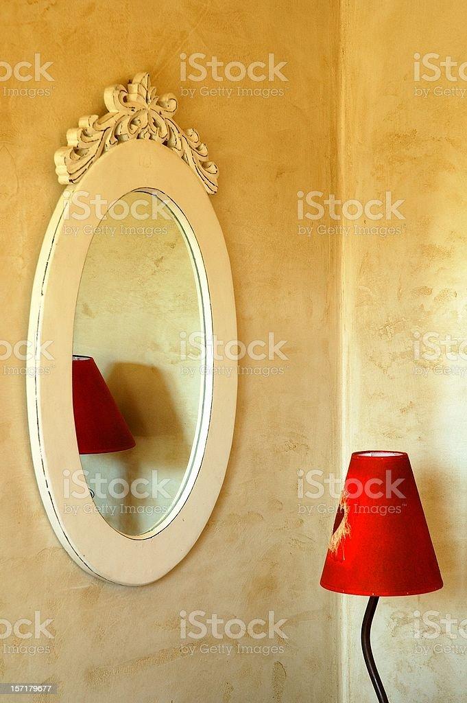 Provence interiors 3 stock photo