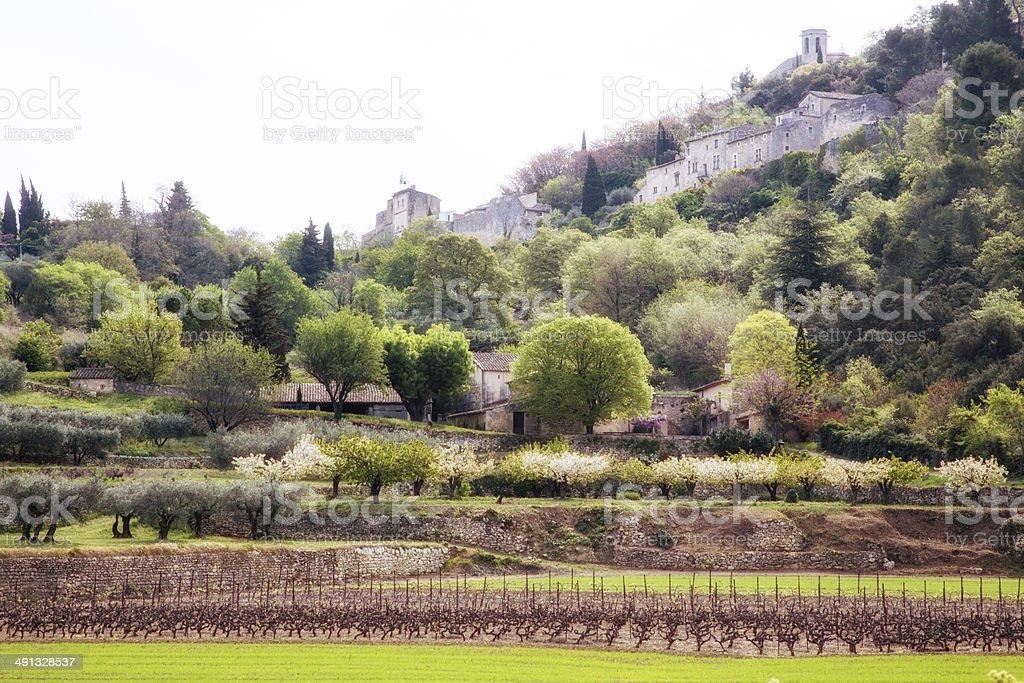 Provence scenery royalty-free stock photo