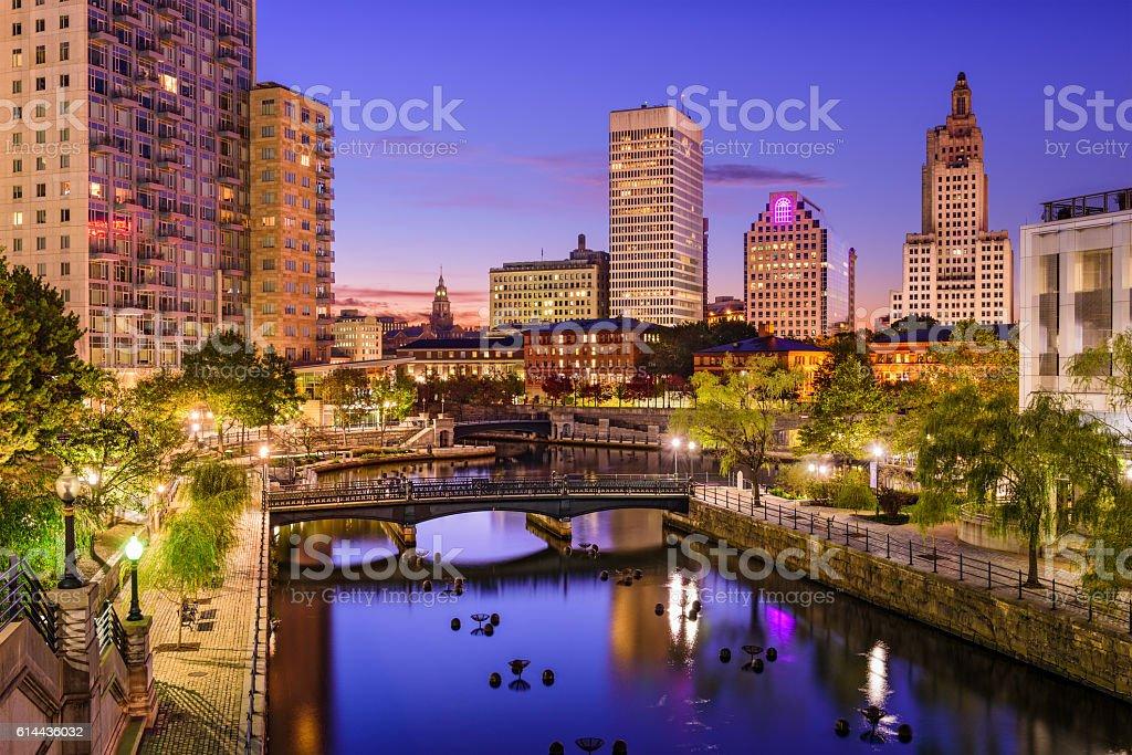 Providence, Rhode Island Cityscape stock photo