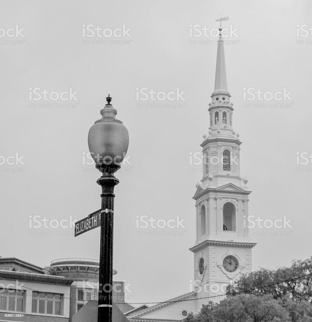 Providence, Rhode Island - Downtown stock photo