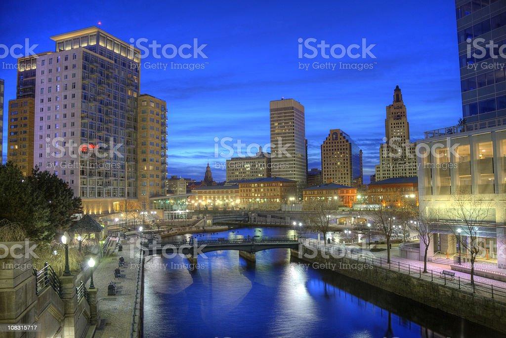 Providence, Rhode Island royalty-free stock photo