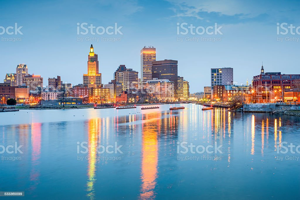 Providence, Rhode Island, USA stock photo