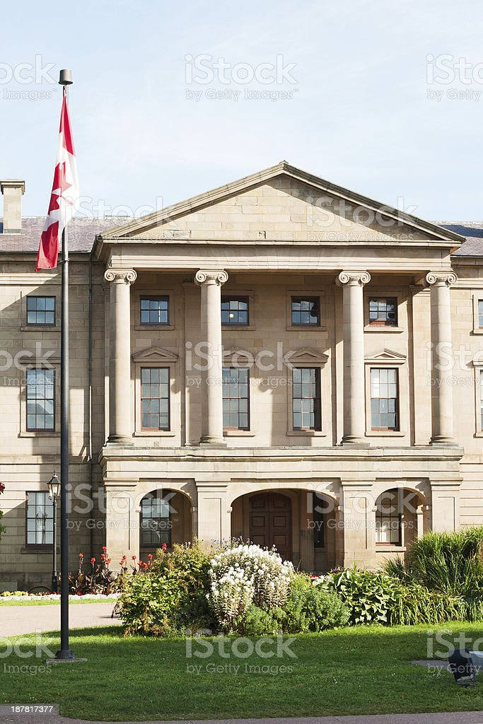 Province house, Charlottetown royalty-free stock photo