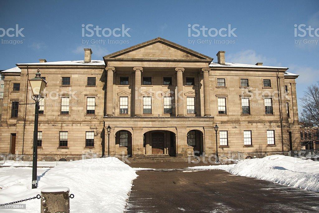 province house stock photo