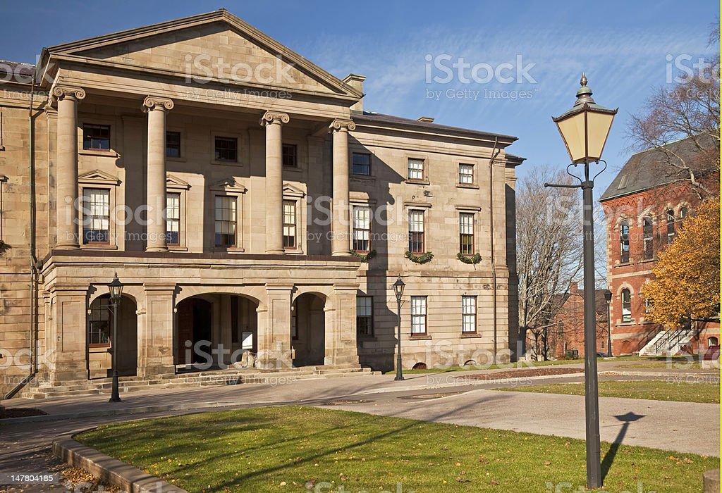 Province House, Prince Edward Island stock photo