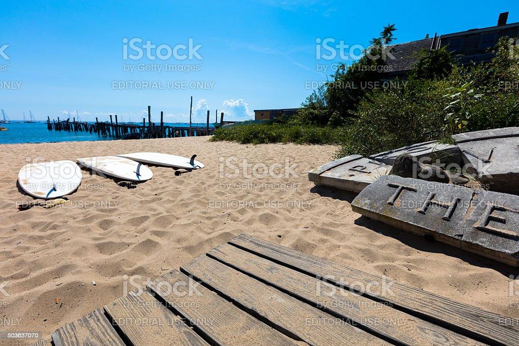 Provincetown beach, Massachussets stock photo