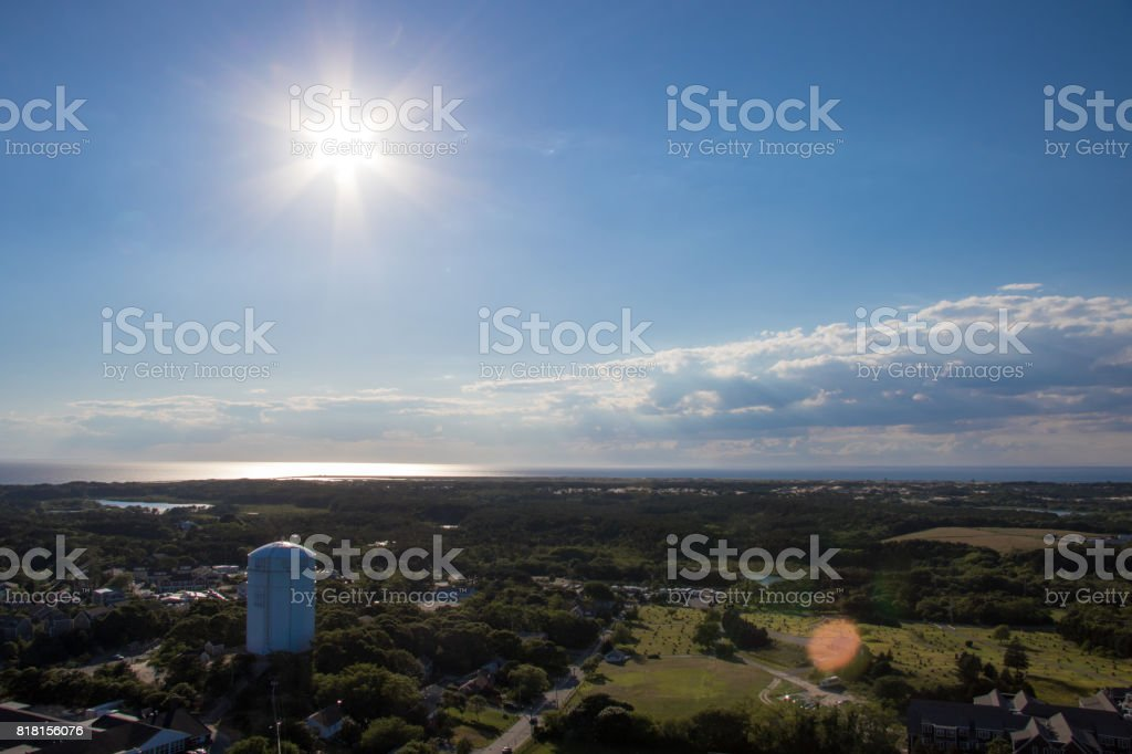 provincetown high up stock photo