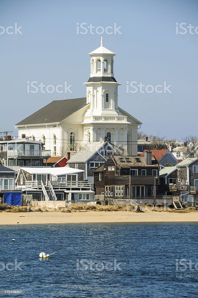 Provincetown Public Library royalty-free stock photo