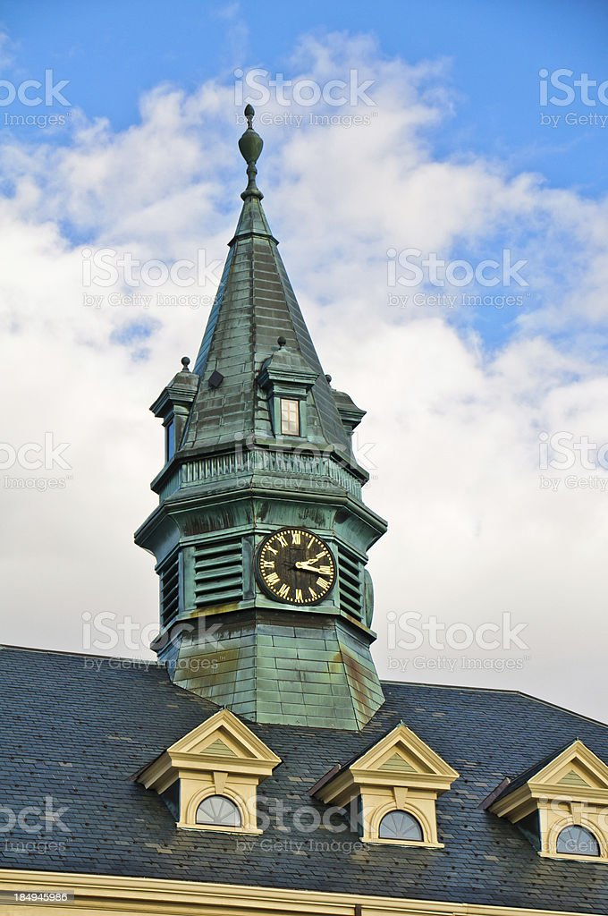 Provincetown Town Hall royalty-free stock photo