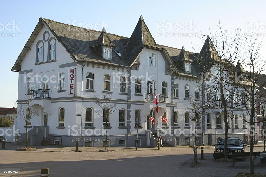 Provincial hotel stock photo