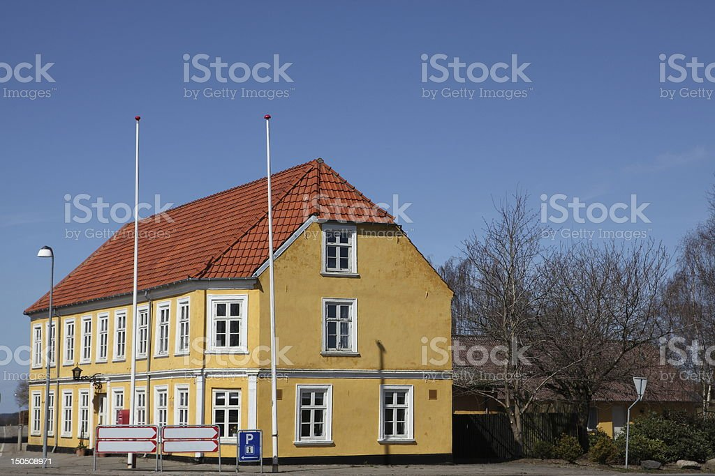 Provincial inn and hotel stock photo