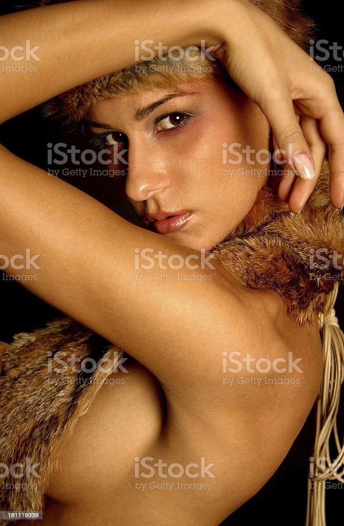 Provocative Model royalty-free stock photo