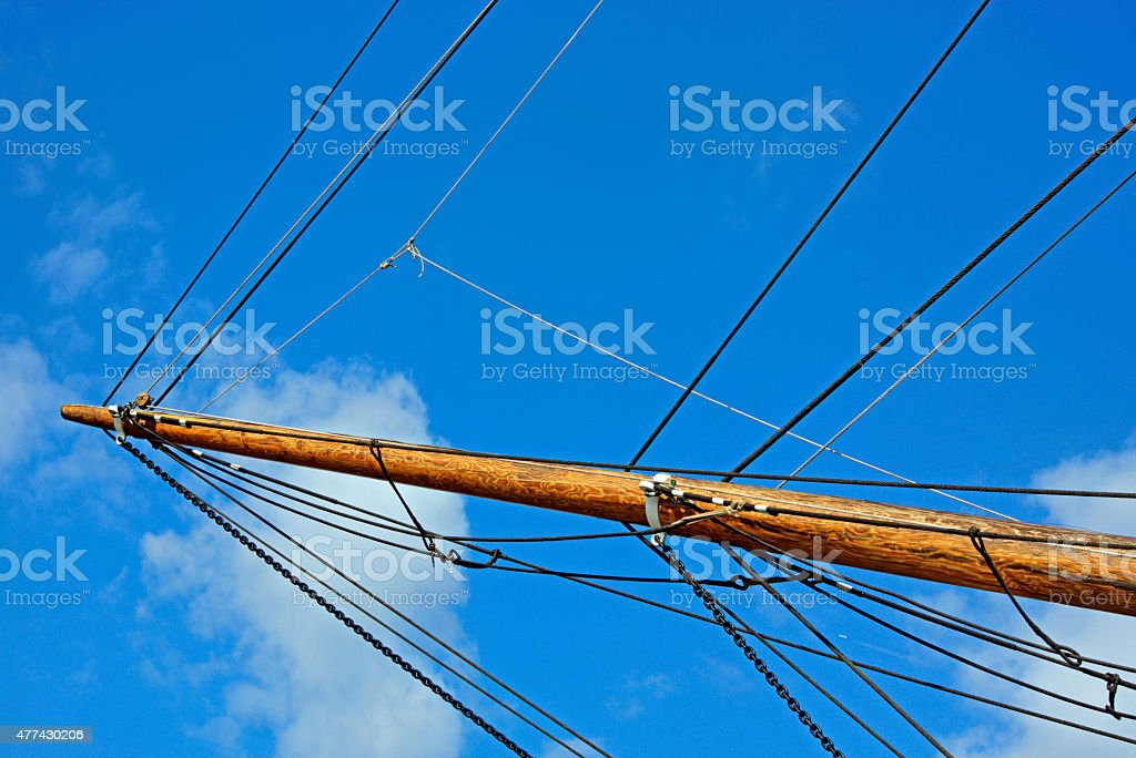 Prow of the Cutty Sark at Greenwich stock photo