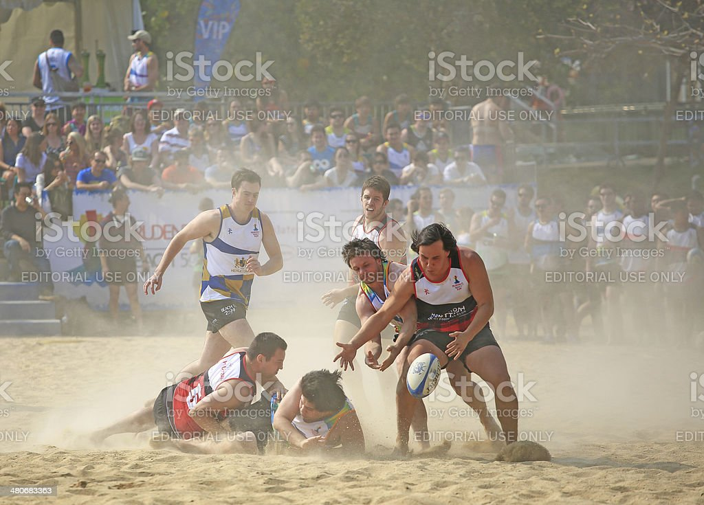 Prudential beach 5s 2014 in Hong Kong stock photo