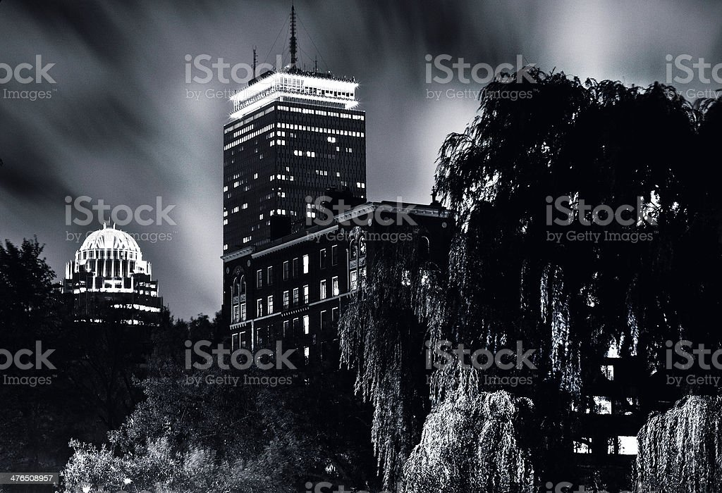 Prudential in the dark royalty-free stock photo