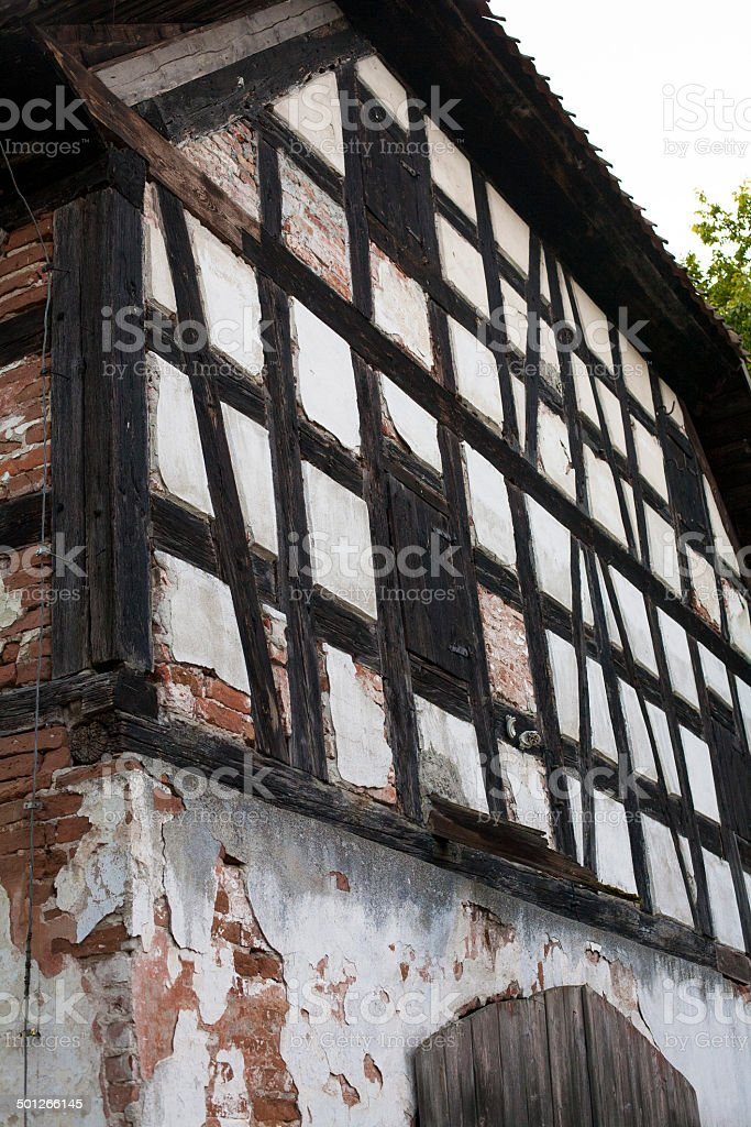 Prussian wall stock photo