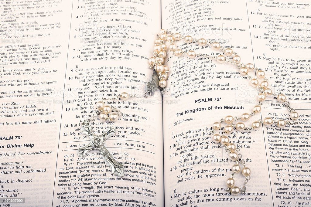 Psalms royalty-free stock photo