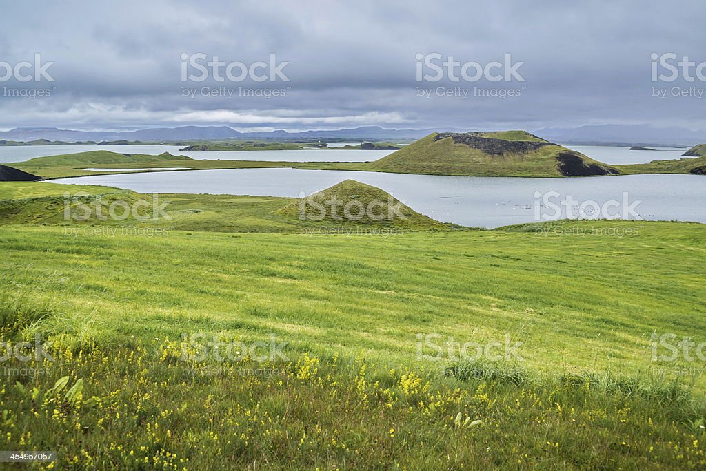 Pseudocraters royalty-free stock photo