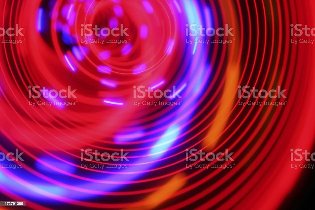 Psychedelic Particle swirl royalty-free stock photo