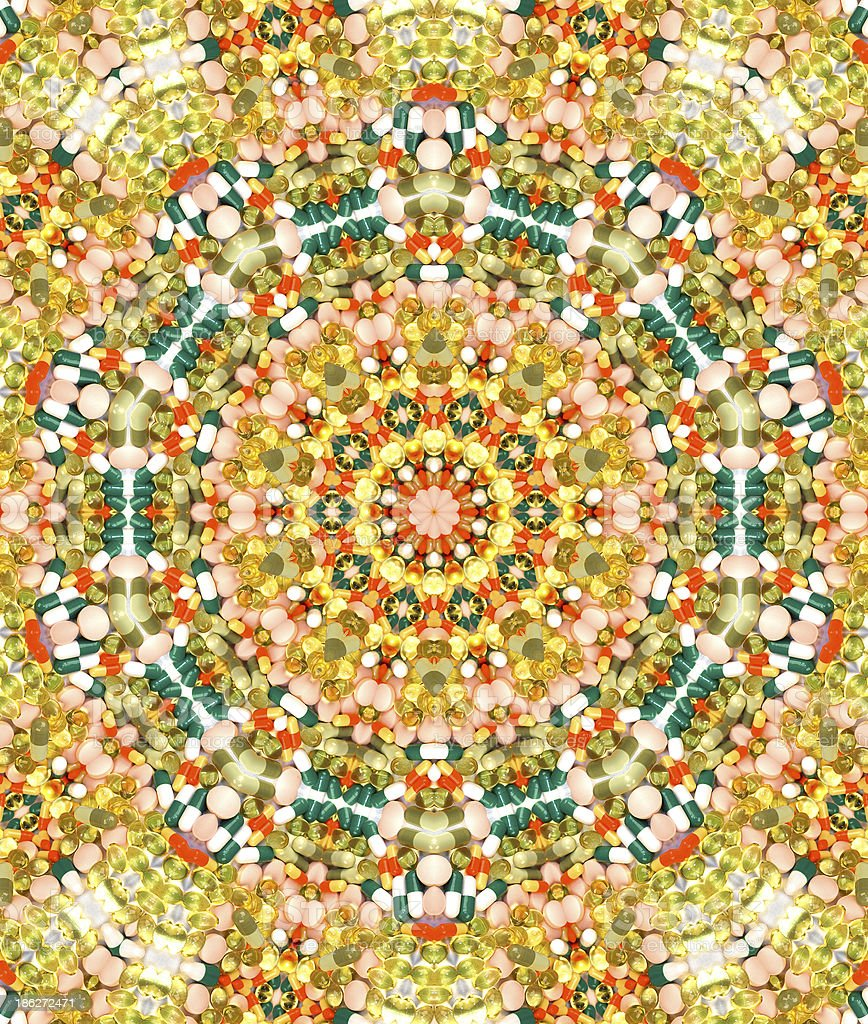 psychedelic pattern royalty-free stock photo
