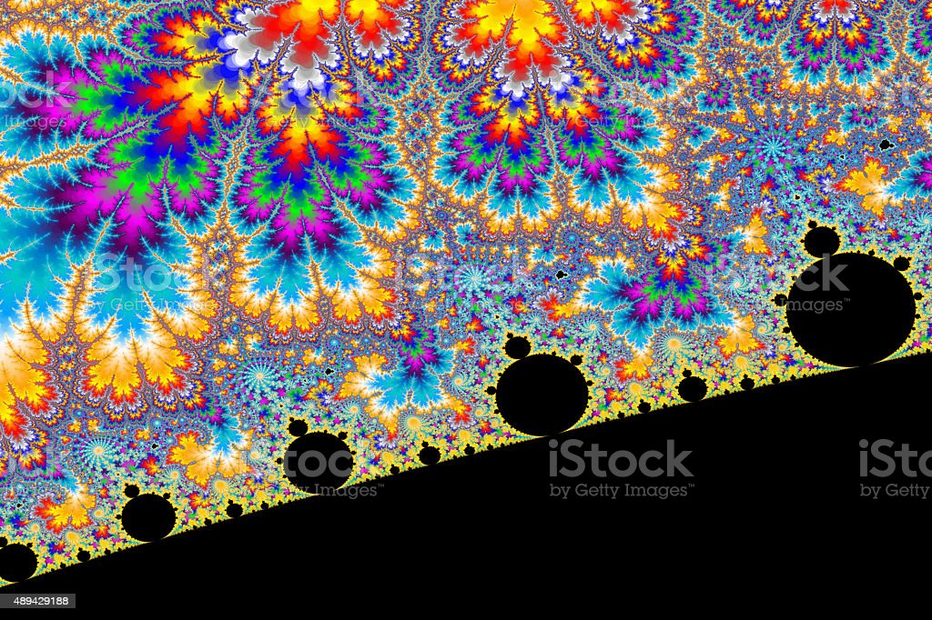 Psychedelic World stock photo
