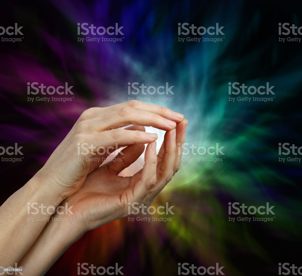 Psychic Protection stock photo