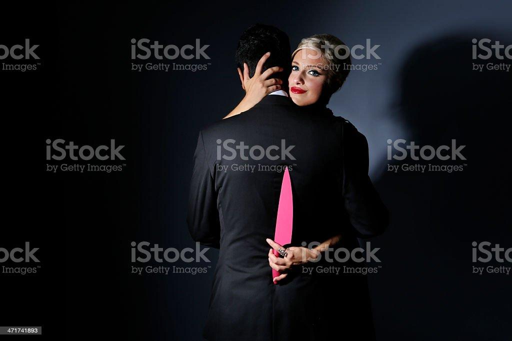 Psycho Girlfriend stock photo