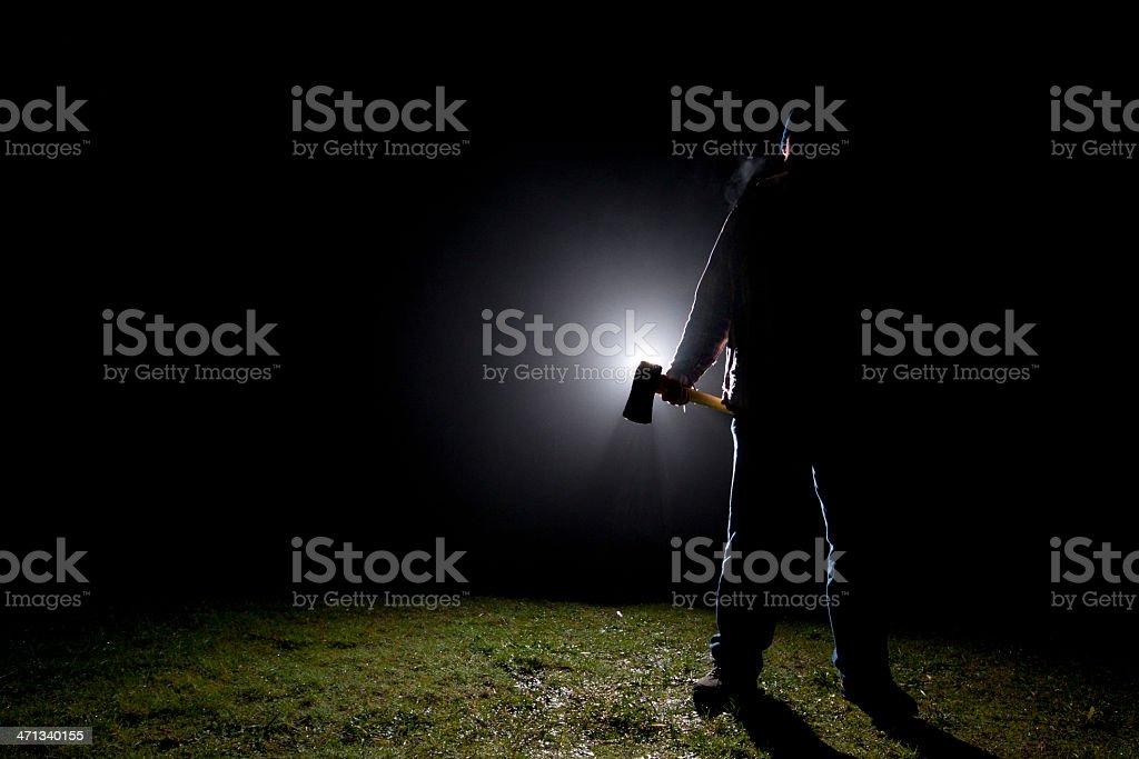 Psycho Killer - Axe stock photo