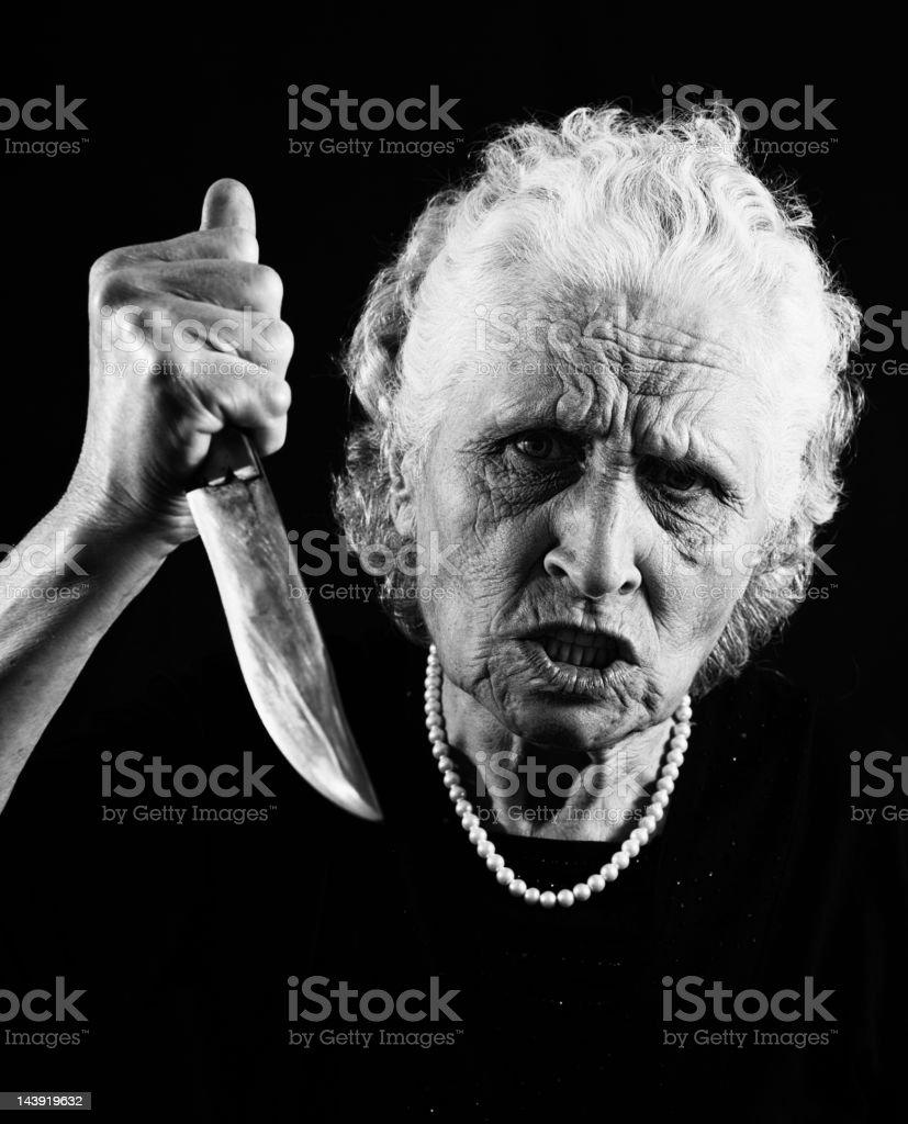 Psycho killer stock photo