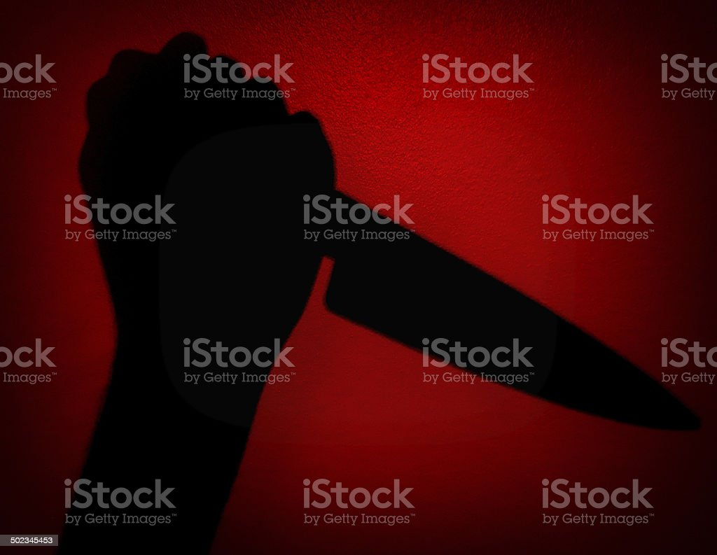 Psycho Murder stock photo