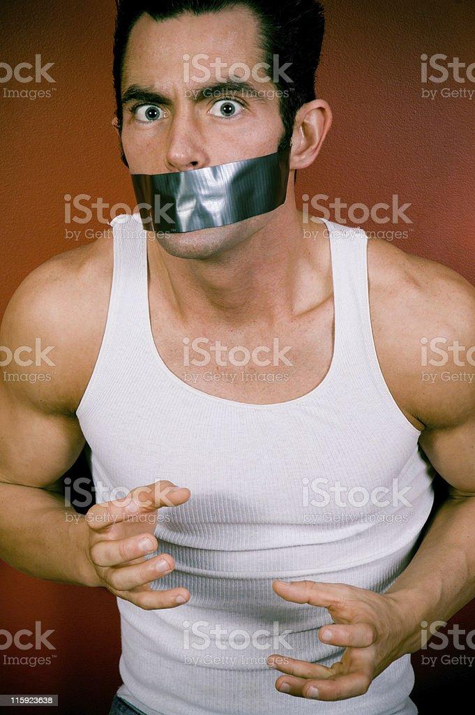 Psycho stock photo