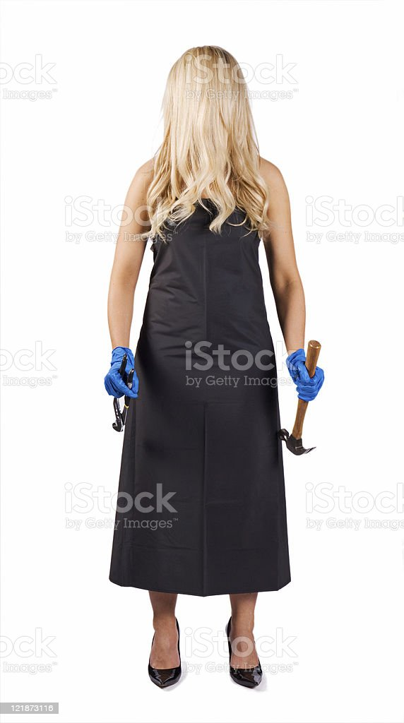 Psycho royalty-free stock photo