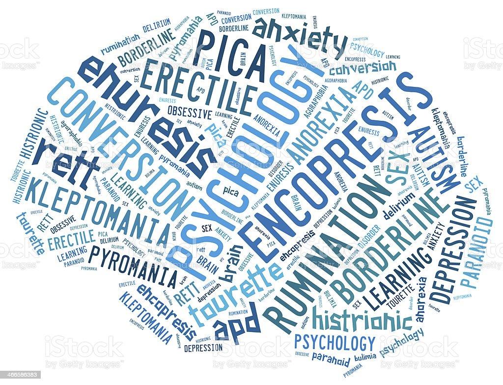Psychology concepts stock photo
