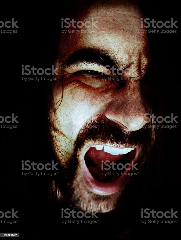 Psychopath stock photo